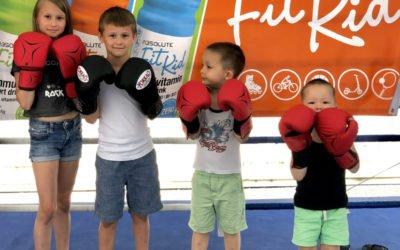 sportoló gyerekek