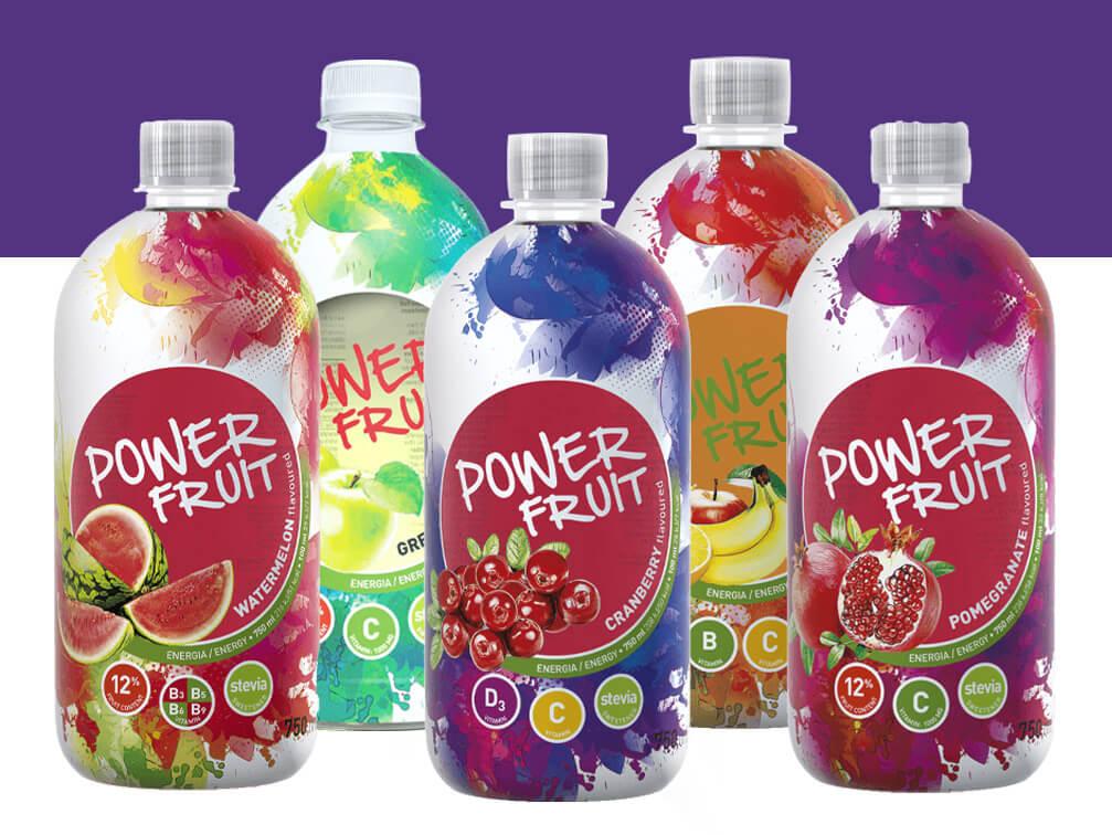 Power fruit üvegek
