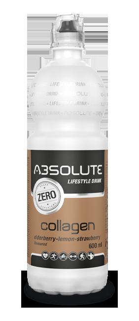 Absolute Lifestyle Kollagén - Bodza-citrom-eper